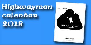 Highwayman Calendar