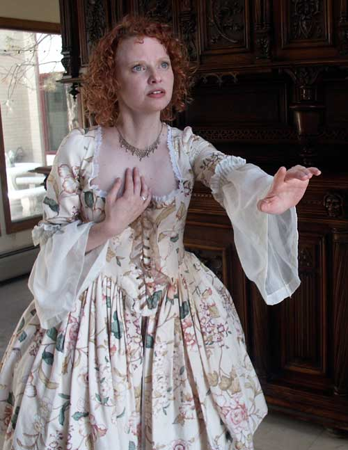 Christa Cannon as Lady Catherine in The Highwayman