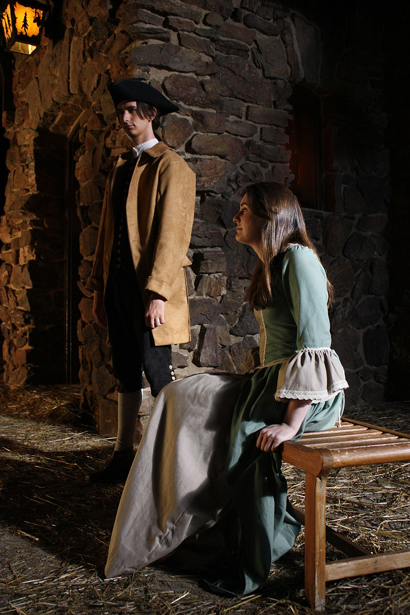 Will (Macleish Day) and Bess (Marianne Page)